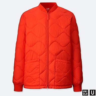 MEN U ULTRA LIGHT DOWN BLOUSON, ORANGE, medium