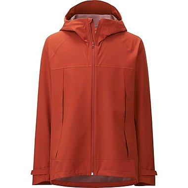 MEN Blocktech Hooded Rain Jacket