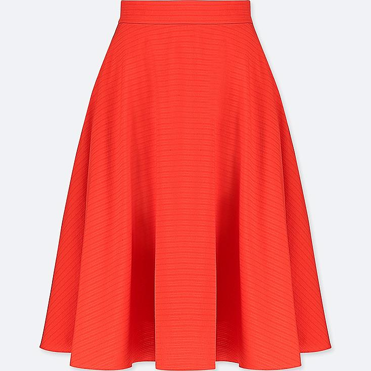 WOMEN CIRCULAR SKIRT, ORANGE, large