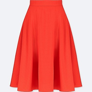 WOMEN CIRCULAR SKIRT, ORANGE, medium