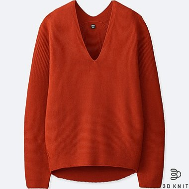 WOMEN 3D COTTON COCOON SWEATER
