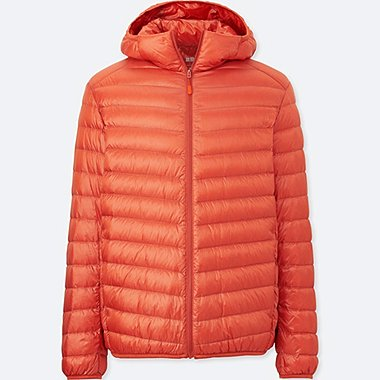 MEN ULTRA LIGHT DOWN PARKA, ORANGE, medium