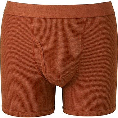 MEN Supima Cotton Waffle Trunks