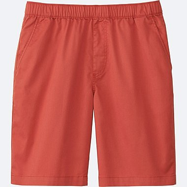 MEN EASY SHORTS, ORANGE, medium