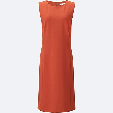 WOMEN Ponte Sleeveless Dress