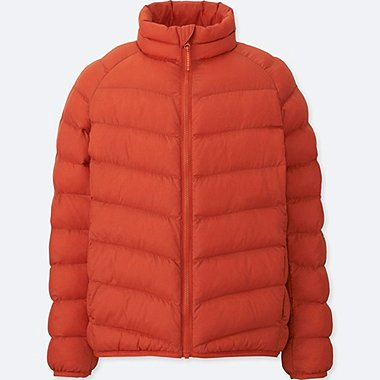BOYS LIGHT WARM PADDED JACKET, ORANGE, medium