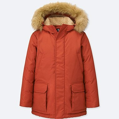 KIDS WARM PADDED COAT