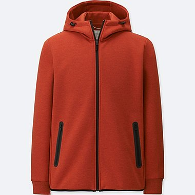 MEN DRY STRETCH SWEAT FULL-ZIP HOODIE