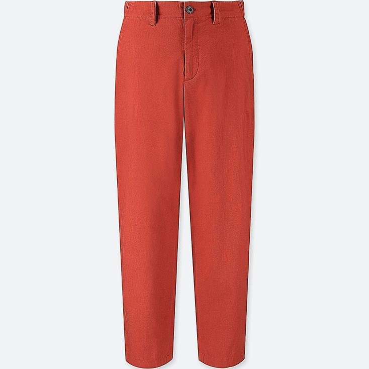 WOMEN COTTON LINEN RELAXED PANTS at UNIQLO in Brooklyn, NY | Tuggl