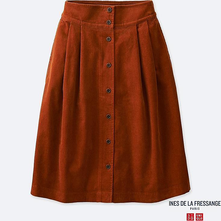 WOMEN INES CORDUROY TUCKED SKIRT | UNIQLO UK | 734 x 734 jpeg 54kB