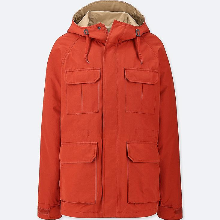 MEN MOUNTAIN PARKA (ONLINE EXCLUSIVE), ORANGE, large