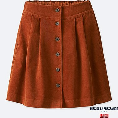 GIRLS INES CORDUROY SKIRT