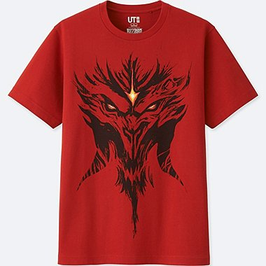 CAMISETA GRAFICA Blizzard Entertainment (Diablo)