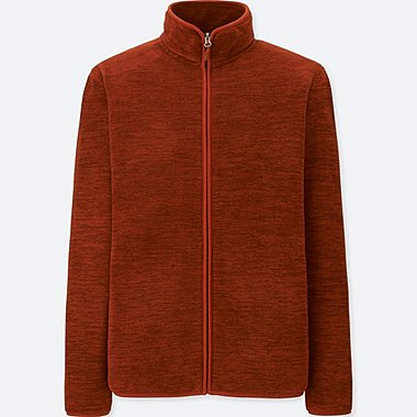 MEN FLEECE LONG SLEEVE FULL-ZIP JACKET