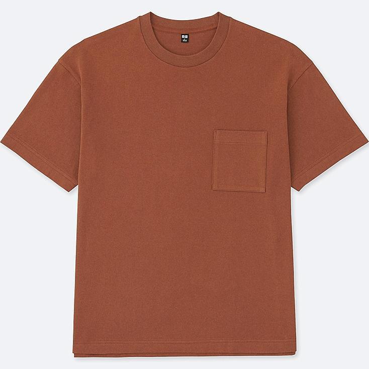 Men oversized short sleeve crewneck t shirt uniqlo us for Uniqlo t shirt sizing