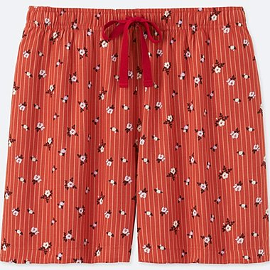 WOMEN RELACO SHORTS, DARK ORANGE, medium