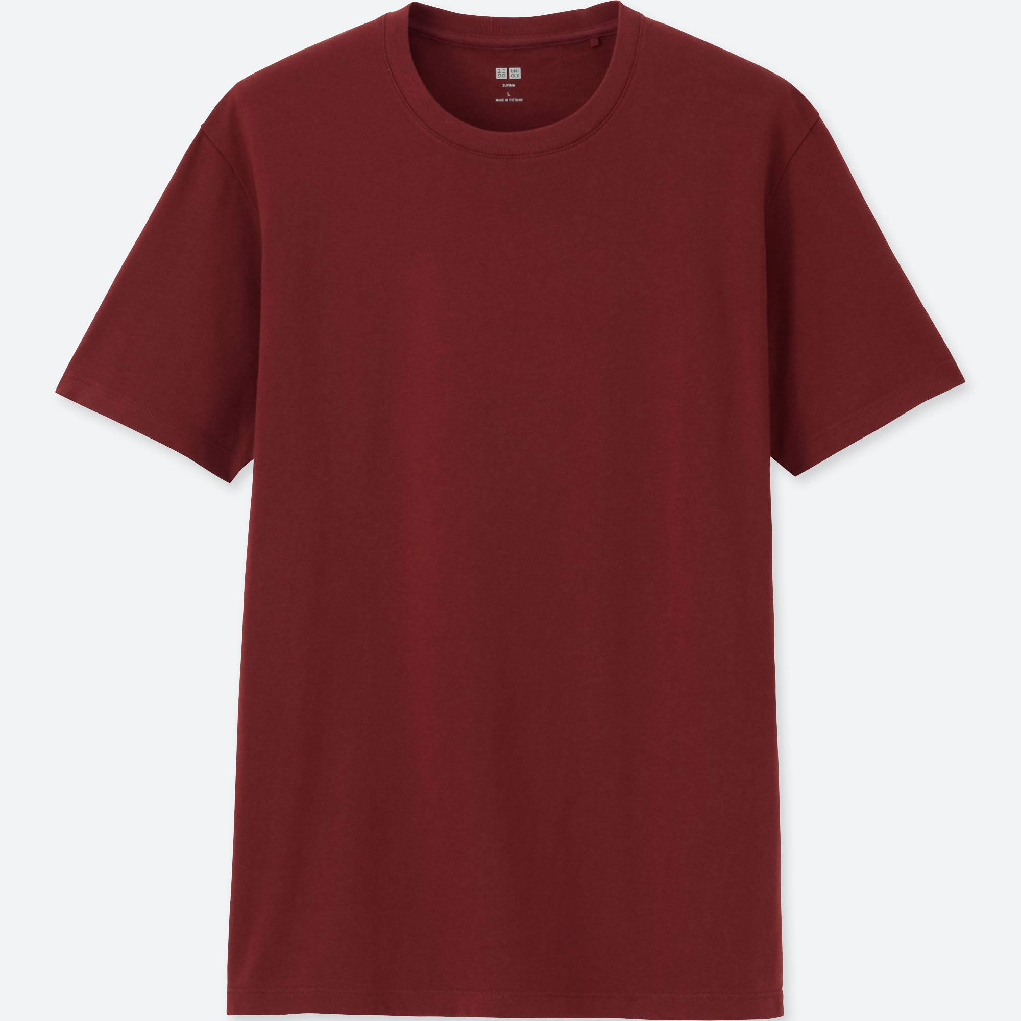 MEN Supima® COTTON CREW NECK SHORT-SLEEVE T-SHIRT | UNIQLO US