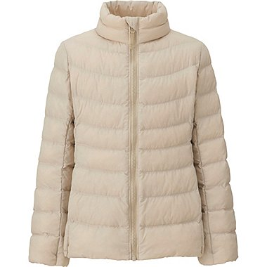 GIRLS LIGHT WARM PADDED JACKET, NATURAL, medium