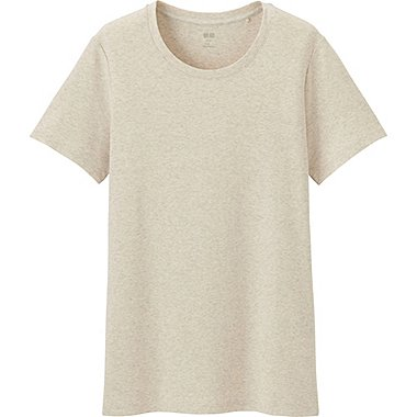 DAMEN T-Shirt Rundhals aus Supima Cotton