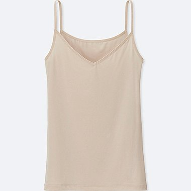 WOMEN AIRism CAMISOLE, NATURAL, medium