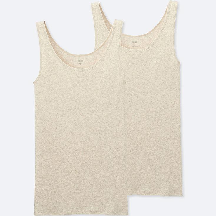 WOMEN Supima Cotton Sleeveless Top - 2 Pack