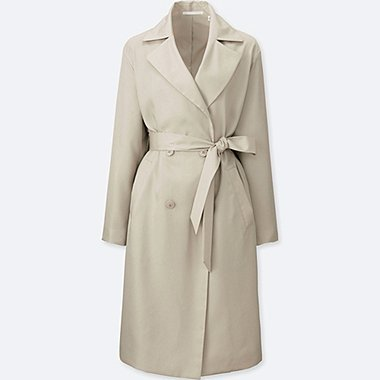WOMEN Drape Trench Coat