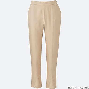 WOMEN Hana Tajima Tencel Tapered Ankle Length Trousers