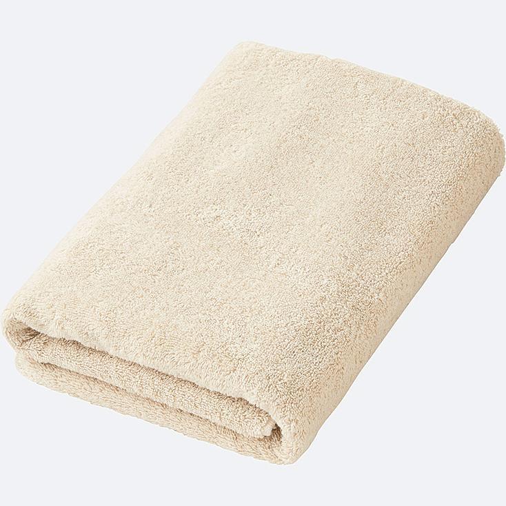 BATH TOWEL, NATURAL, large