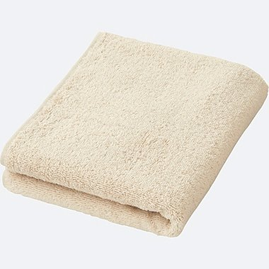 FACE TOWEL, NATURAL, medium