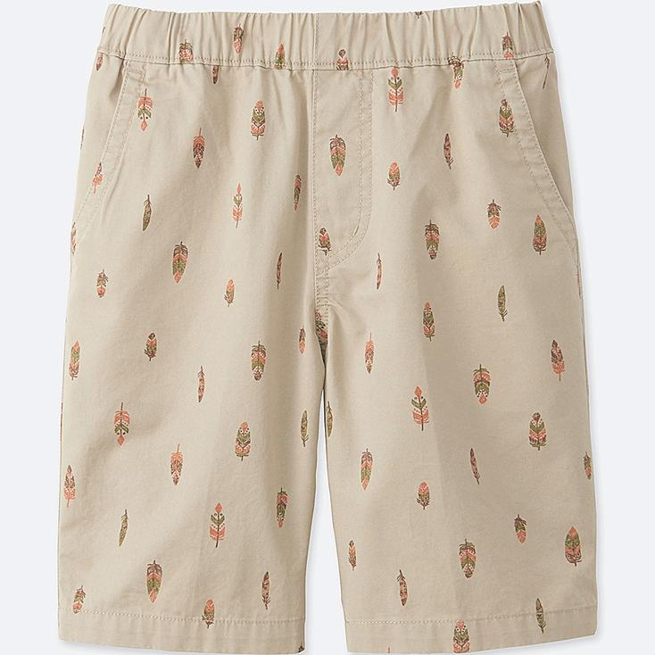BOYS EASY SHORTS, NATURAL, large