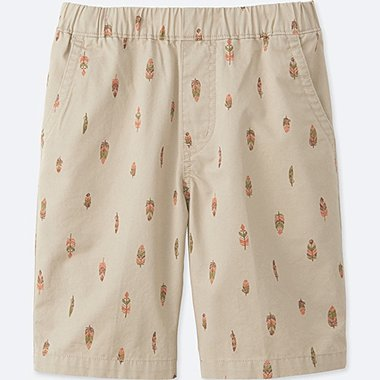 BOYS EASY SHORTS, NATURAL, medium