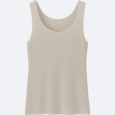 WOMEN AIRism Seamless Sleeveless Top