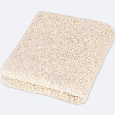 FACE TOWEL  (ONLINE EXCLUSIVE), NATURAL, medium