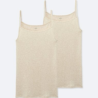 WOMEN SUPIMA COTTON CAMISOLE (2 PACK)
