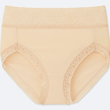 WOMEN HIGH-RISE BRIEF, NATURAL, medium
