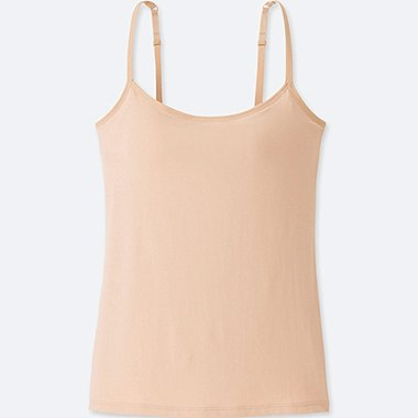 WOMEN AIRism BRA CAMISOLE, NATURAL, medium