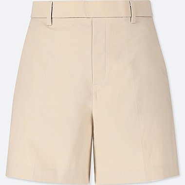 WOMEN COTTON SATIN SHORTS