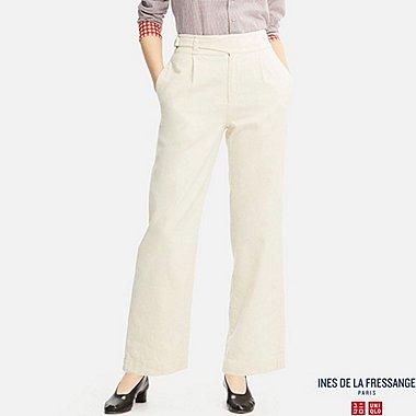 WOMEN Ines Cotton Linen Twill Trousers