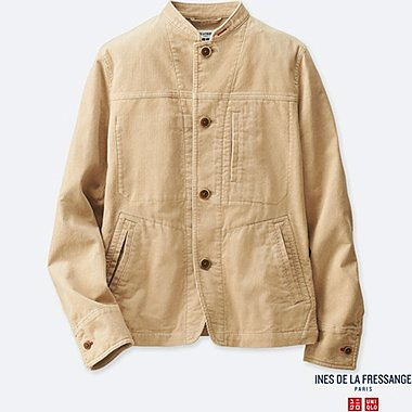 WOMEN INES CORDUROY COVERALL JACKET