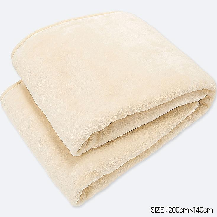 HEATTECH BLANKET (SINGLE) (ONLINE EXCLUSIVE), NATURAL, large