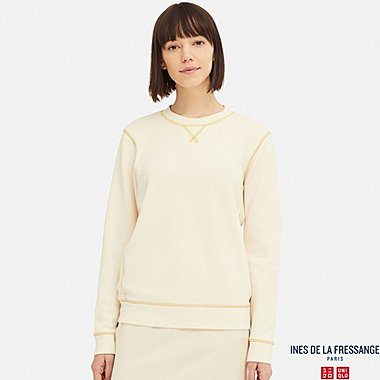 WOMEN INES FRENCH TERRYCLOTH LONG SLEEVED SWEATSHIRT