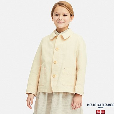 KIDS COVERALL (INES DE LA FRESSANGE), NATURAL, medium