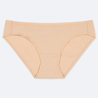 WOMEN BASIC BIKINI, NATURAL, medium