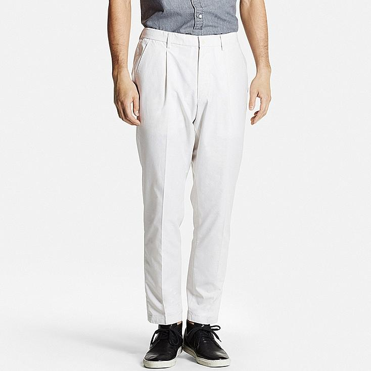 Men DRY Pleated Relaxed Fit Pants | UNIQLO US