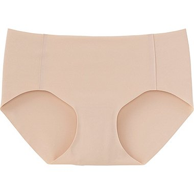 WOMEN ULTRA SEAMLESS SHORTS (HIPHUGGER), BEIGE, medium