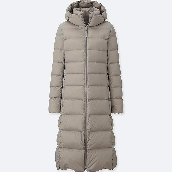 Down Long Coat Womens Sm Coats