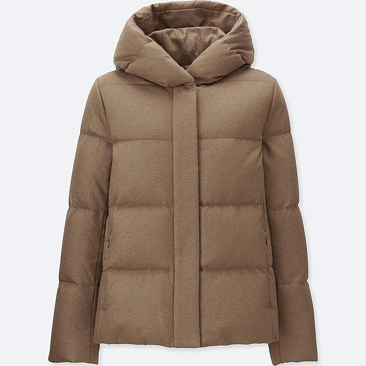 WOMEN WOOL BLEND DOWN JACKET | UNIQLO US