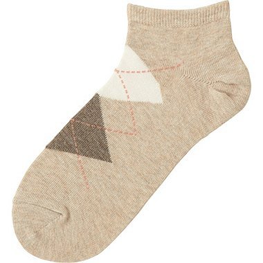 WOMEN Short Socks (Argyle)