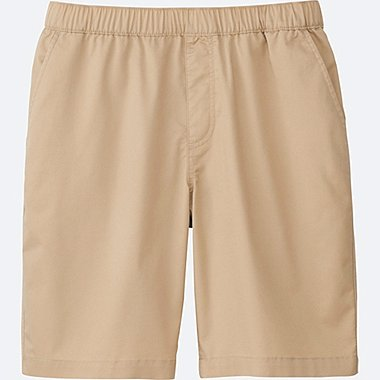 MEN EASY SHORTS, BEIGE, medium