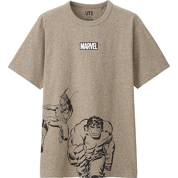 HERREN T-Shirt Bedruckt MARVEL Collection